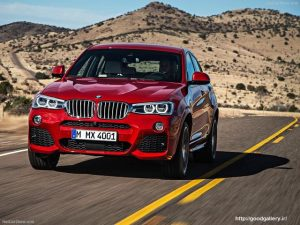 BMW X4 - Front Angle, 2015
