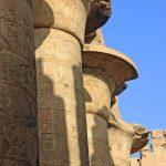 ستون های عظیم معبد شهر کرنک