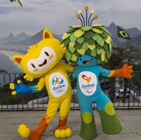 نماد بازیهای المپیک و پارالمپیک ۲۰۱۶ ریو