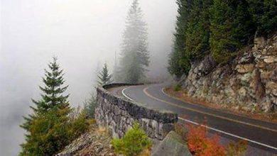 Photo of یکی از زیباترین جاده توریستی ایران