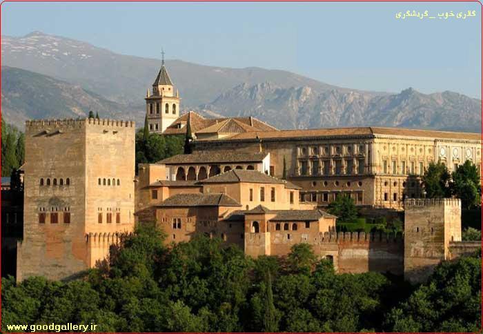 """از جاذبه های گردشگری اسپانیا """"کاخ الحمرا"""""""