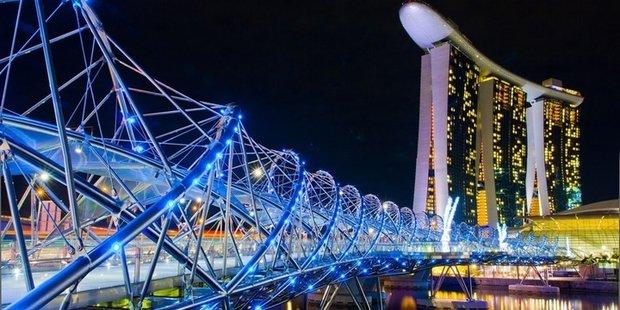پل مارپیچ _سنگاپور