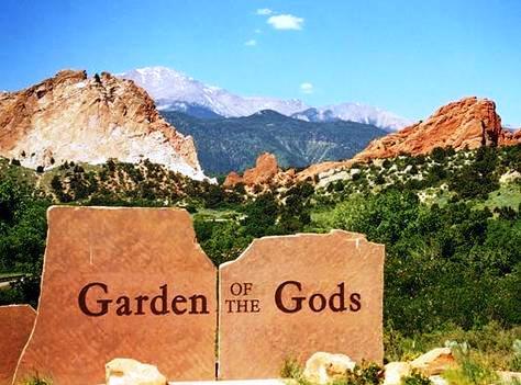 پارک باغ خدایان یکی از معروف ترین پارک های عمومی کلرادو اسپرینگز