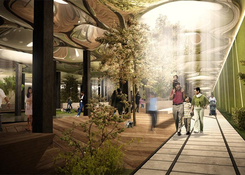 پارک زیرزمینی نیویورک