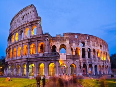 گردش در شهر رم در ایتالیا