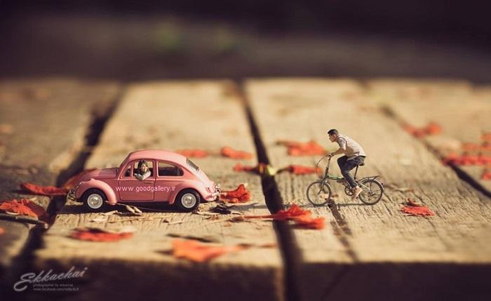 ابتکار عکاس مراسم عروسی در ستایش عکسهای عاشقانه