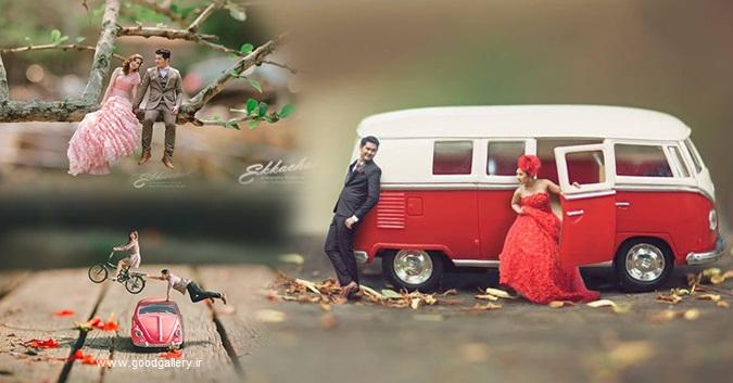 عکس های عروسی فانتزی