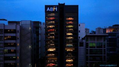 افتتاح دستگاه فروش خودکار ماشین های لوکس در سنگاپور