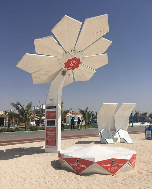 تکنولوژی هوشمند خورشیدی در شهر دبی