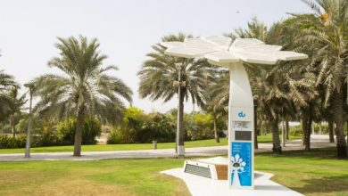 فناوری جدید درختان هوشمند خورشیدی دبی