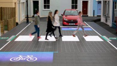 Photo of تکنولوژی جدید در پیاده رو
