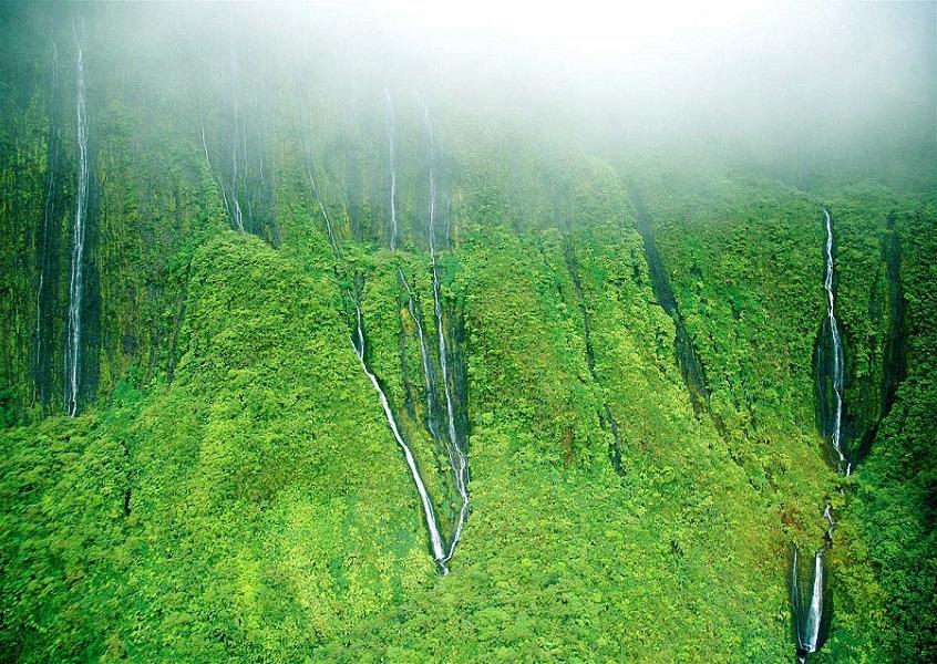 جاهای دیدنی جهان , آبشار Honokohau , مائویی هاوایی