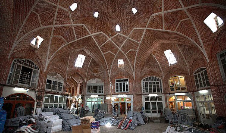 تاریخچه بازار تبریز