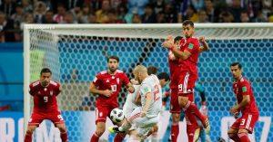 تصاویر منتخب فوتبال ایران واسپانیا