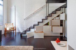 تغییر دکوراسیون معماری در خانه 40 متری