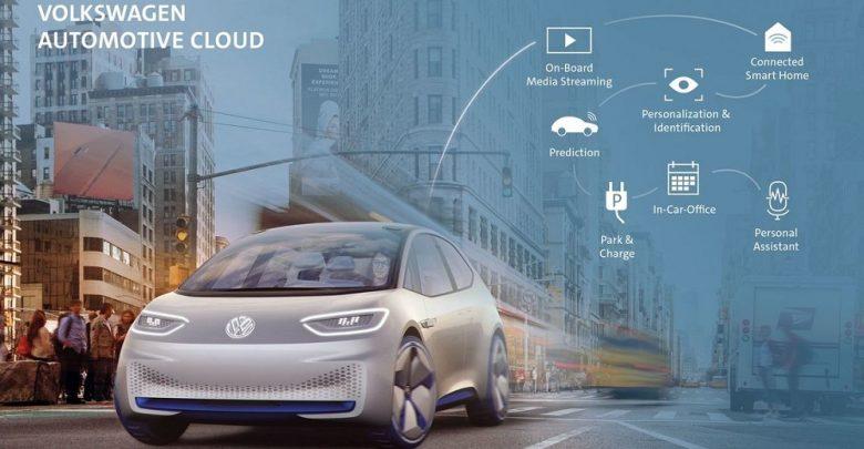 خدمات فولکس واگن برای خودروهای هوشمند
