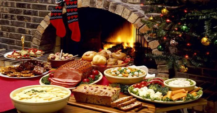 غذاهای شب کریسمس در روسیه